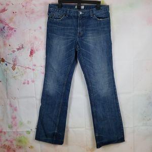 Armani Exchange Low Rise Straight Denim Jean's